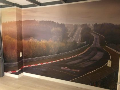 Garage Ter Veen wallcovering