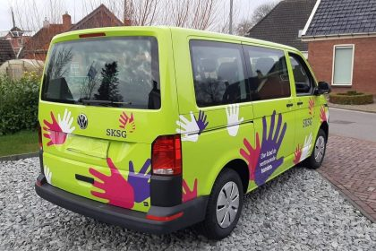 Car wrap SKSG 4 stuks VW transporter